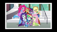 The Mane 7 cast photo EG3