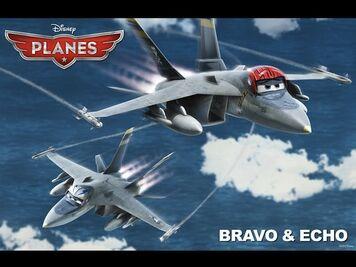 Bravo and Echo