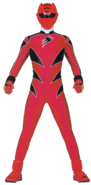 Jungle Fury Red Ranger