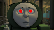 Percy corrupted by dark magic