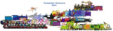 Stuingtion's Adventure Team II