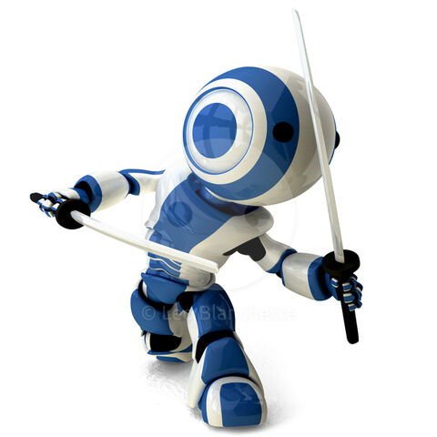 File:63790-glossy-blue-robot-ninja-holding-katanas.jpg