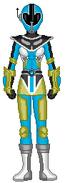11. Aqua Data Squad Ranger