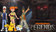 Pooh's Adventures of Legends of the Hidden Temple Pokemon character poster