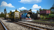 Arry and Bert with Diesel and Thomas in Season 20