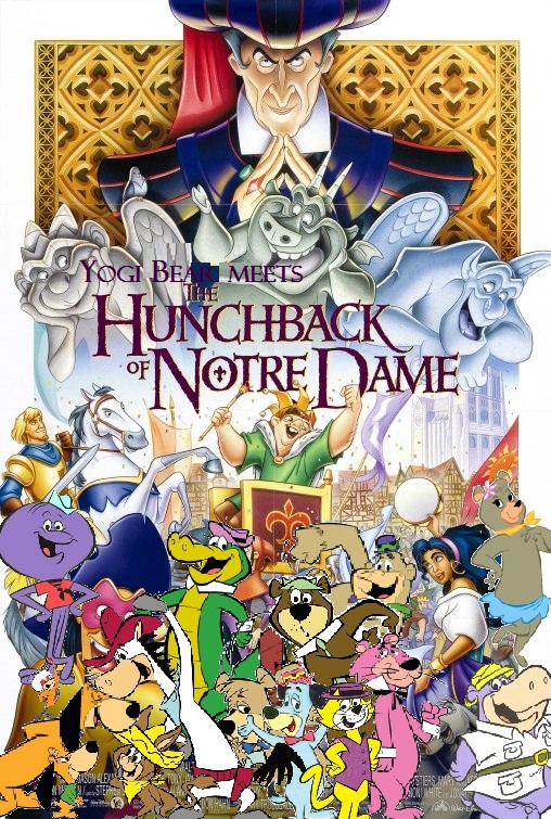 Yogi Bear Meets The Hunchback Of Notre Dame Pooh S