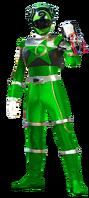 Green Lizard Ranger (Male)