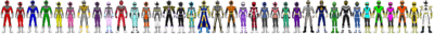 Data Squad Rangers (All Together 12)