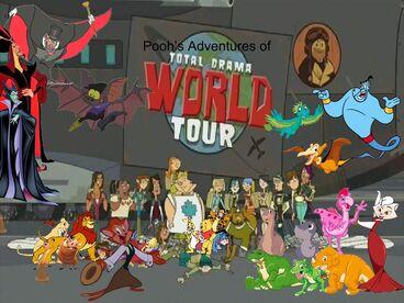 Pooh Adventures of Total Drama World Tour (Remake)