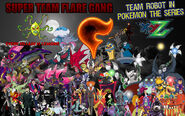 Team Robot in Pokémon XY&Z Villains Poster (Remake 4)