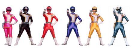 Six street rangers