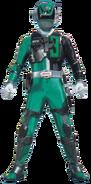 S.P.D. Green Ranger S.W.A.T. mode