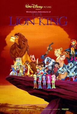 Weekenders Adventures of The Lion King