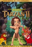 Simba, Timon, and Pumbaa's Adventures of Tarzan II poster