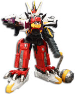 Plesio Charge Megazord Pachy Rex Formation