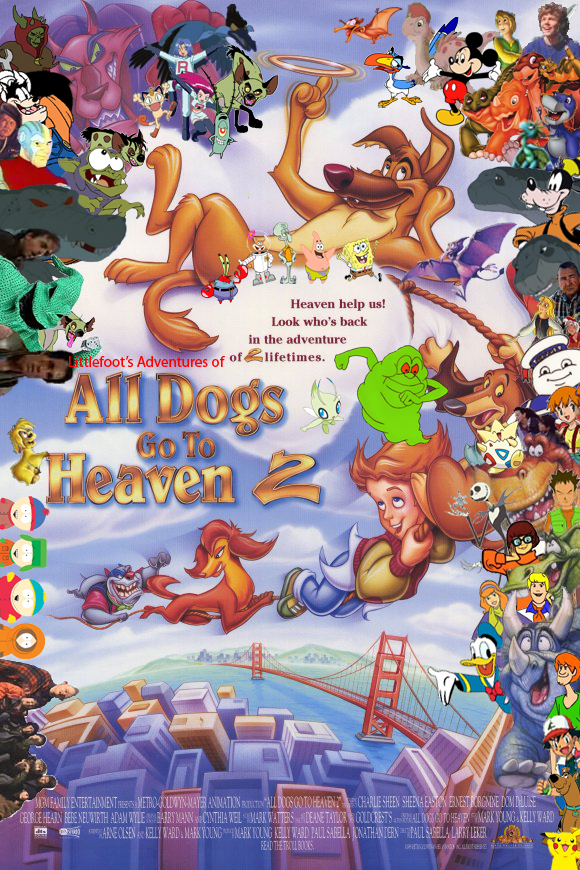 Littlefoot's Adventures of All Dogs Go to Heaven 2 Poster