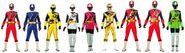 The Ninja Steel Rangers