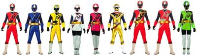 The Ninja Steel Rangers