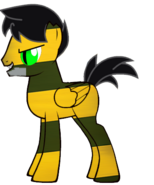 Bert as a pony