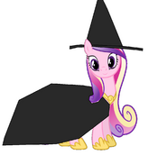 Cadance as a witch