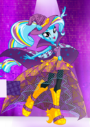 Trixie's half-pony form