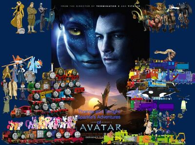 Thomas and Twilight Sparkle's Adventures of Avatar poster