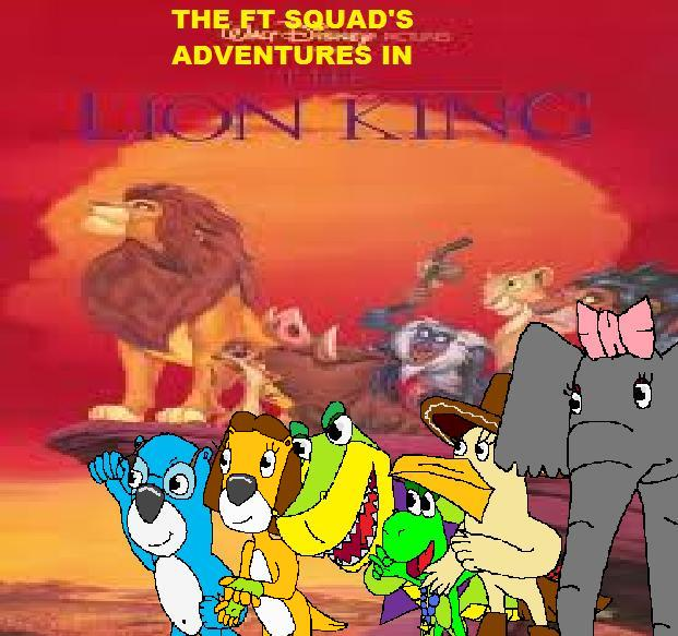 The Ft Squad S Adventures In The Lion King Pooh S