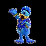 Donald Duck Monster form KHIII