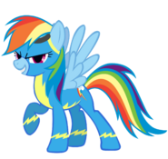 Rainbow Dash as a Wonderbolt