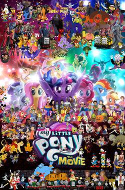 Pooh's Adventures of My Little Pony- The Movie (2017)