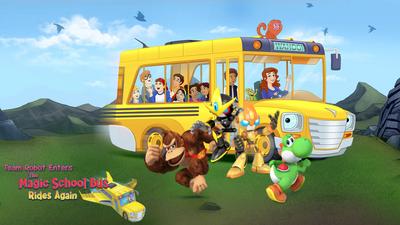 Team Robot Enters The Magic School Bus Rides Again Poster