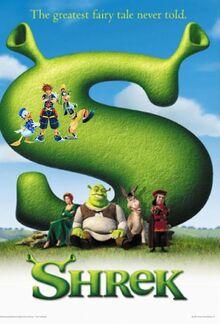 Sora's Adventures of Shrek Poster