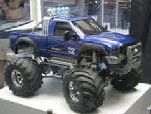 Wheelie monster truck