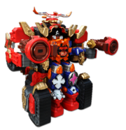 Fire Ninja Steel Ultrazord
