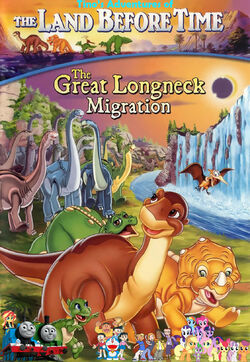 Tino's Adventures of The Land Before Time X Poster