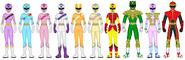 Harmony Force Rangers (New Rangers 2)