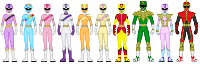 Harmony Force Rangers (New Rangers 2)