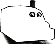 Percy as a ghost