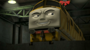 Diesel 10 grinning evilly