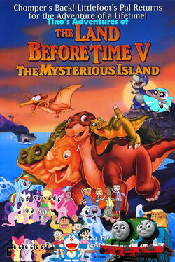 Tino's Adventures of The Land Before Time V Poster