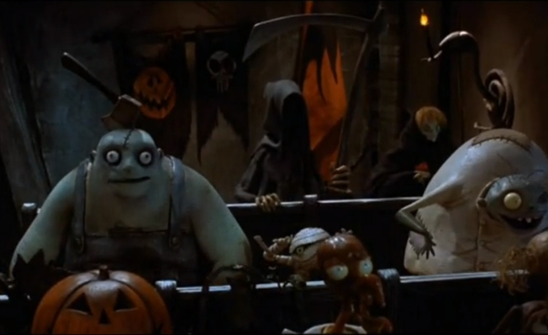 citizens of halloween town - Halloweentown Nightmare Before Christmas