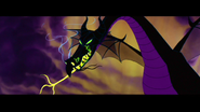 Maleficent in her dragon form.