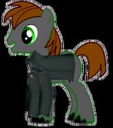 Stephen Hatt as a pony