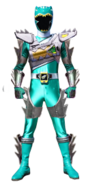 Dino Charge Green Ranger in Dino Super Drive