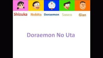 Doraemon No Uta 40th Anniversary Characters Version Color Coded (Original Color Coded Video)