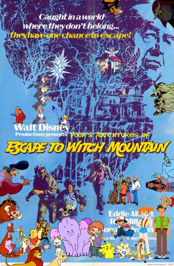 Pooh's Adventures of Escape to Witch Mountain Poster