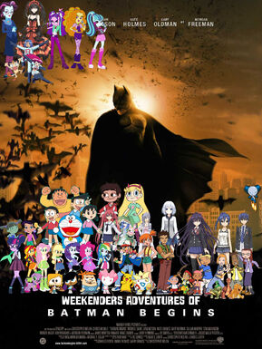 Weekenders Adventures of Batman Begins (Remake)