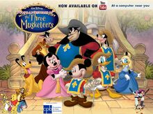 Pooh's Adventures of the Three Musketeers poster
