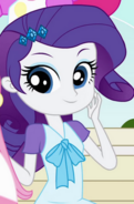 Rarity's young human counterpart