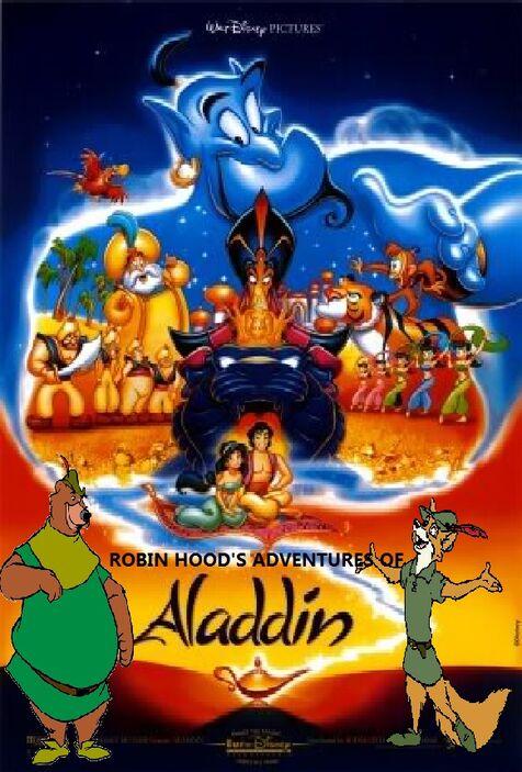 Robin Hood's Adventures of Aladdin poster